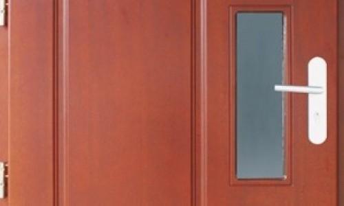 Drzwi dębowe zewnętrzne