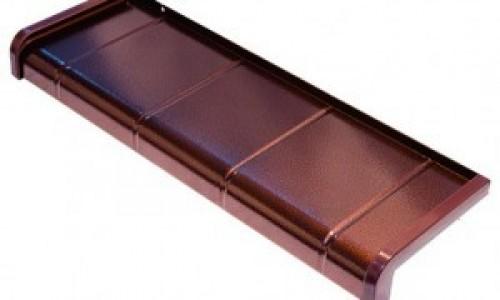 Parapety aluminiowe typu płytka Softline