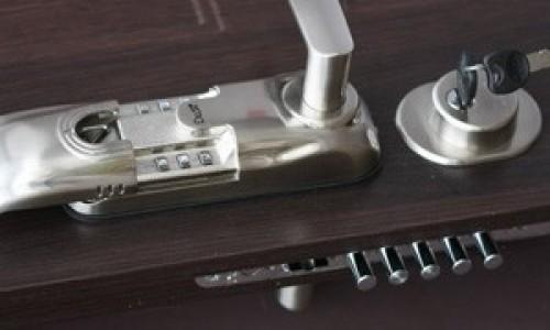 Klamki z blokadą elektromechaniczną