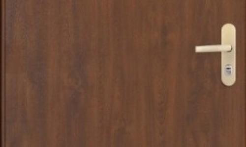 Metalowe drzwi do mieszkań